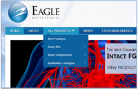 Eagle Biosciences Expands Further into Research Market with Launch of New Website